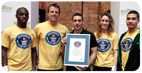 Kinect e o Guinness World Records